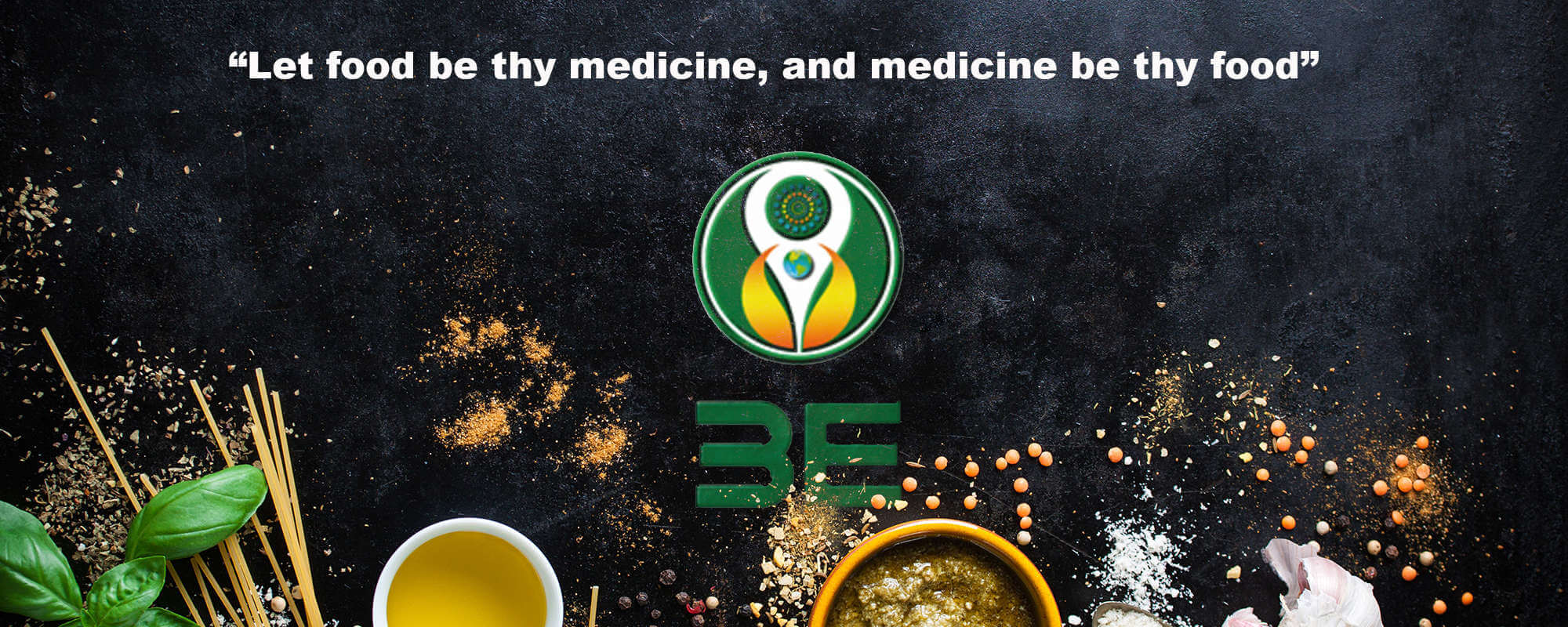 Let food be thy medicine, and medicine by thy food